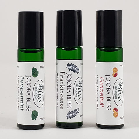 Jojoba Bliss - Organic CBD Body Oil Roll-On