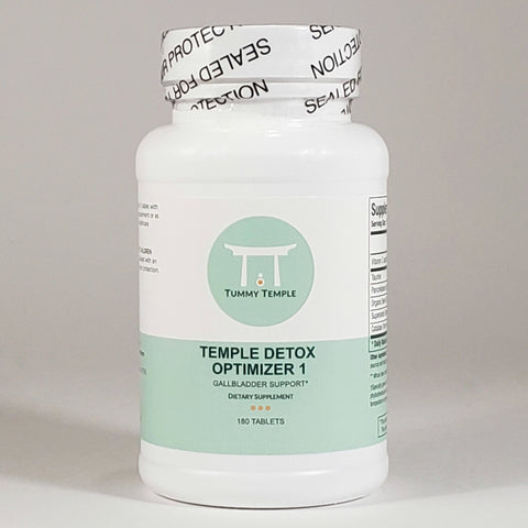 Temple Detox Optimizer 1 - gallbladder support