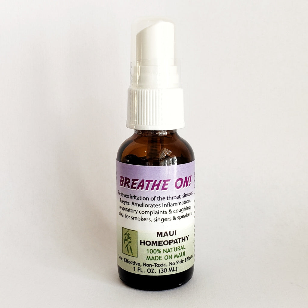 Breathe On - Homeopathic Spray