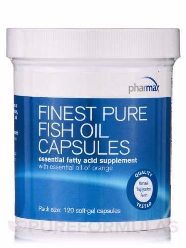Finest Pure Fish Oil- Pharmax