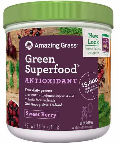 Green Superfood Antioxidant - Sweet Berry