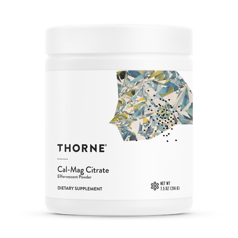 Cal-Mag Citrate Effervescent Powder - Thorne