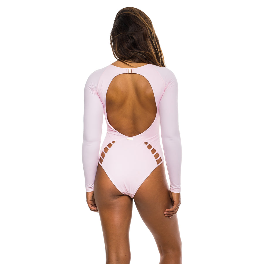 LONG SLEEVE ONE PIECE COTTON CANDY