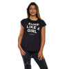 'Surf Like A Girl' comfy tee