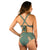 HIGH SURF BIKINI REVERSIBLE BOTTOM ARMY / DUSTY PINK