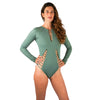 LONG SLEEVE ONE PIECE ARMY