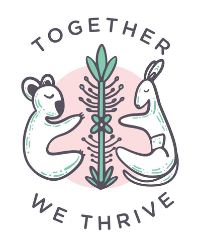 Together We Thrive - 100% profits for Aussie Bush Fires