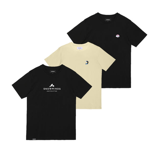 3 X Snowminds Tees