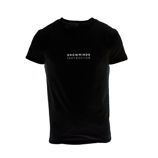 Snowminds Plain Instructor Tee - Black