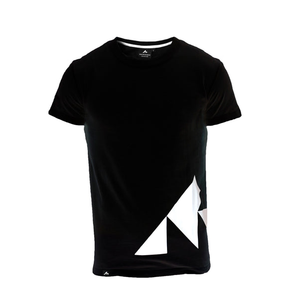 Snowminds Mountain Tee - Black