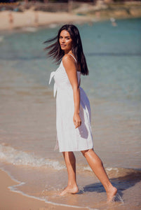Marilyn Sundress - White-SOPHIA + CO-SOPHIA + CO