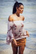 Load image into Gallery viewer, Mia Pink Floral Top - SOLD OUT - Preorder-SOPHIA + CO-SOPHIA + CO