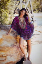 Load image into Gallery viewer, Charlotte - Butterfly Silk Kaftan-SOPHIA + CO-SOPHIA + CO