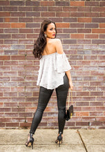Load image into Gallery viewer, Off The Shoulder Top - Grey-SOPHIA + CO-SOPHIA + CO