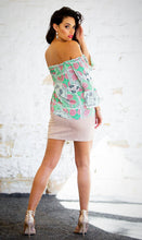 Load image into Gallery viewer, Pastel Pink Faux Suede Skirt-SOPHIA + CO-SOPHIA + CO