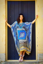 Load image into Gallery viewer, Moroccan Dreams - Silk Kaftan Dress - 135cm-SOPHIA + CO-SOPHIA + CO