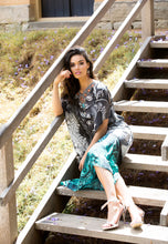Load image into Gallery viewer, Secret Garden - Silk Kaftan Dress - 135cm-SOPHIA + CO-SOPHIA + CO