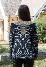 Load image into Gallery viewer, Zebra Royal Jacket-SOPHIA + CO-SOPHIA + CO