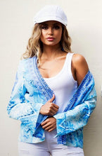 Load image into Gallery viewer, Ellena 100% Crepe Silk Jacket with embellishments-SOPHIA + CO-SOPHIA + CO