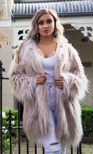 Load image into Gallery viewer, Ava Faux Fur Jacket - Blush Pink-SOPHIA + CO-SOPHIA + CO