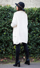 Load image into Gallery viewer, Elena Knit Cardigan - in Ivory-SOPHIA + CO-SOPHIA + CO