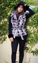 Load image into Gallery viewer, Suzanna Faux Fur Vest - in Smokey Grey-SOPHIA + CO-SOPHIA + CO