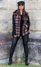 Load image into Gallery viewer, Callista Faux Fur Vest - in Brown-SOPHIA + CO-SOPHIA + CO