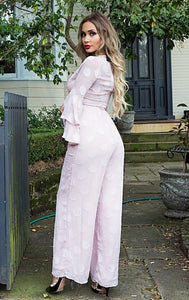 Dolly Jumpsuit - in Pink Blush-SOPHIA + CO-SOPHIA + CO