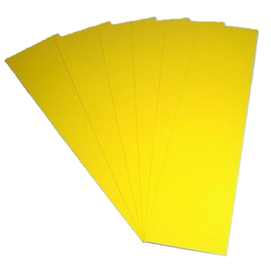 "Plastic Shim Stock  .0075"" x 20"" x 20"" 10 Piece Pack S80125"