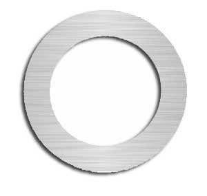 "Arbor Shim 1010 Steel .008"" x 3"" x 4-3/8"" (Sold Separately) S14769"