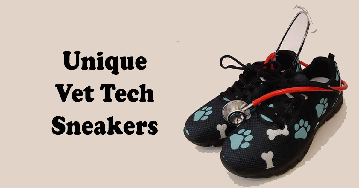 Unique Vet Tech Sneakers