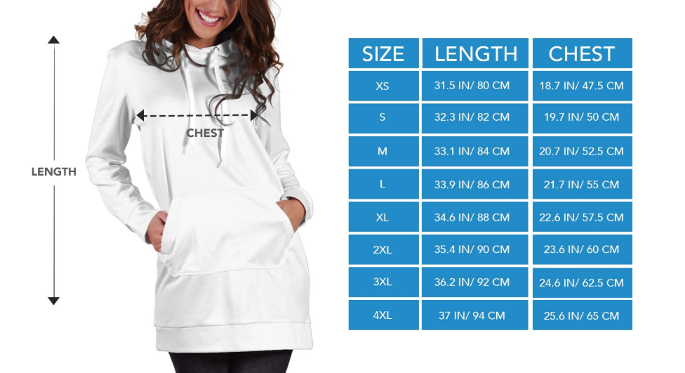 Hoodie dress I love veterinary