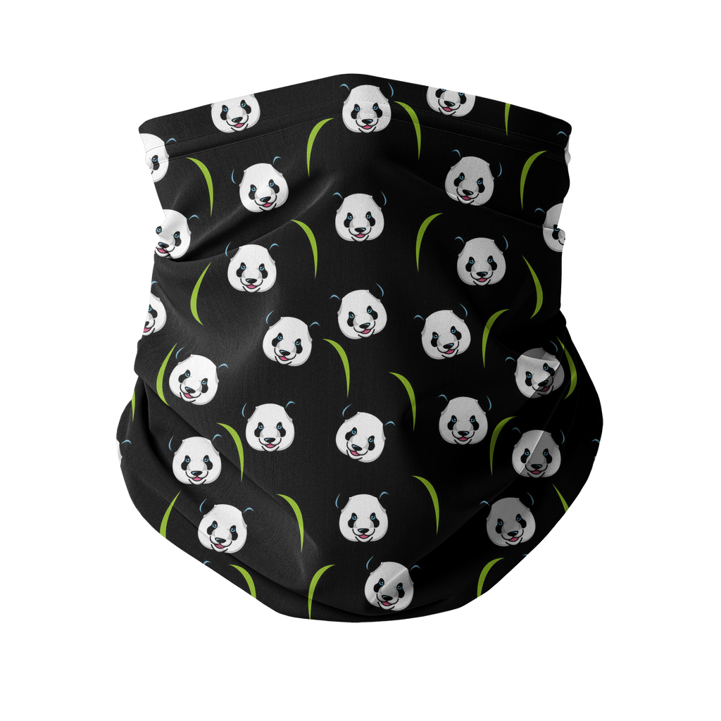 Panda Sublimation Neck Gaiter-Accessories-I love Veterinary