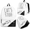 Cat's Stuff, My Stuff - Backpack-Backpacks-I love Veterinary