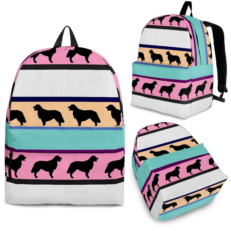 Dogs Pattern - Backpack-Backpacks-I love Veterinary