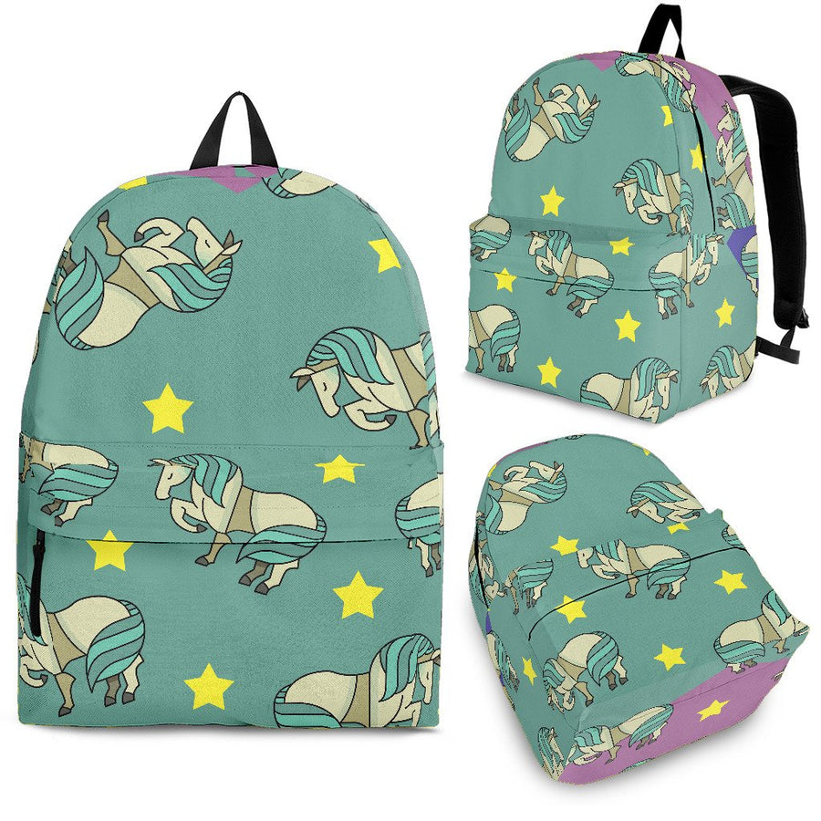 Horses and stars - Backpack