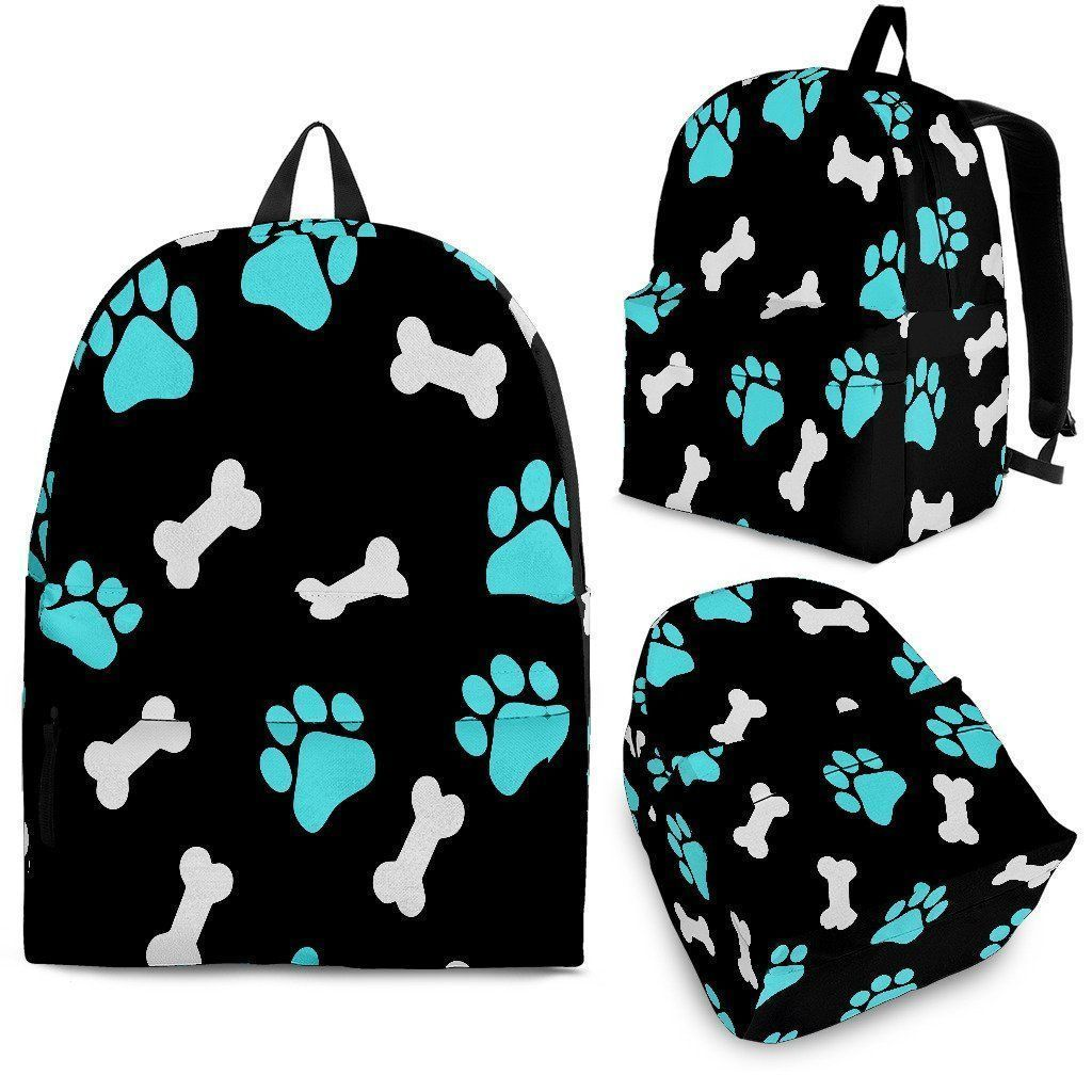 Paws and Bones Backpack-Backpacks-I love Veterinary