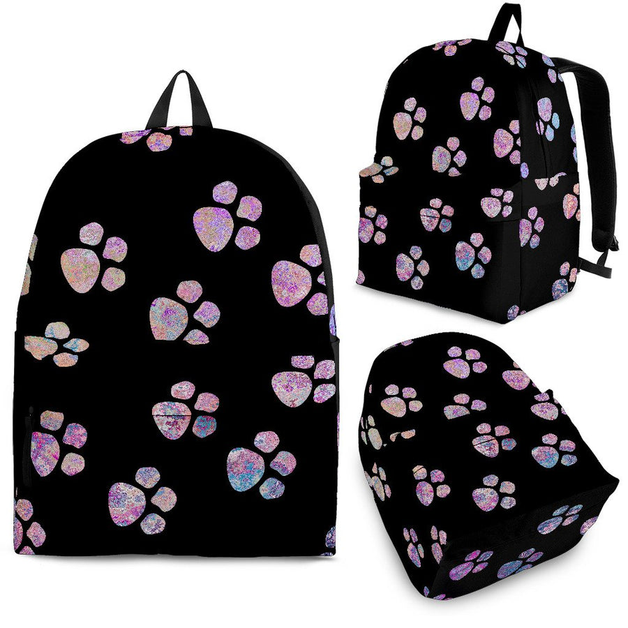 Watercolor Paws Backpack-Backpacks-I love Veterinary