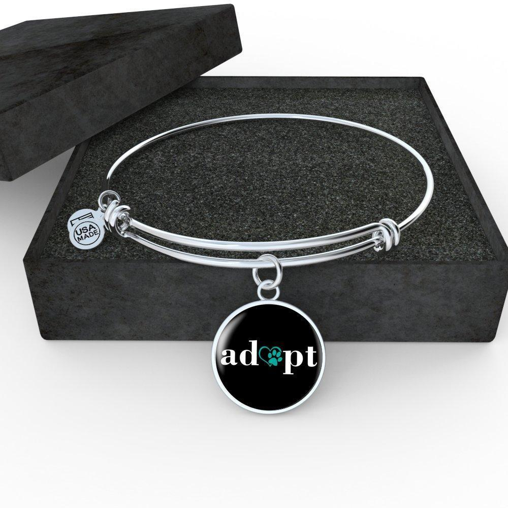 Veterinary Jewelry Gift Adjustable Luxury Bangle Bracelet - Adopt-Bangle Bracelet-I love Veterinary