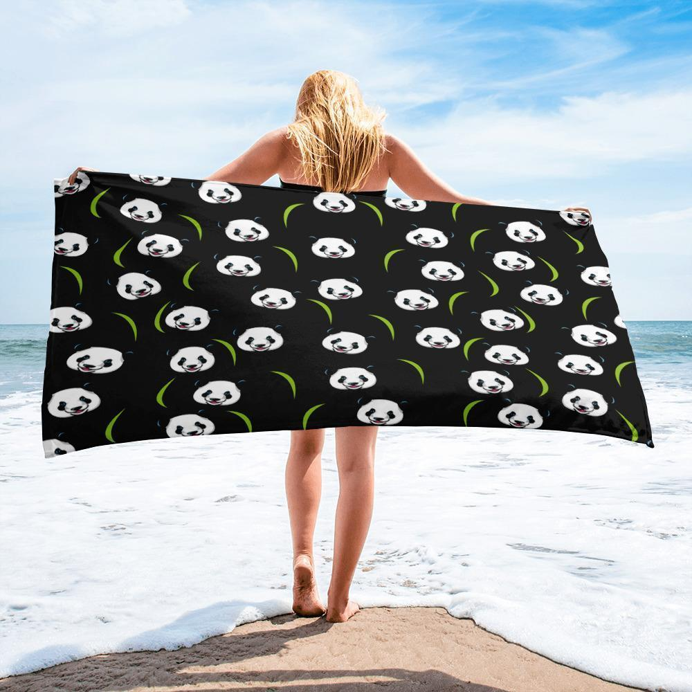 Panda Beach Towel-Beach Towel-I love Veterinary