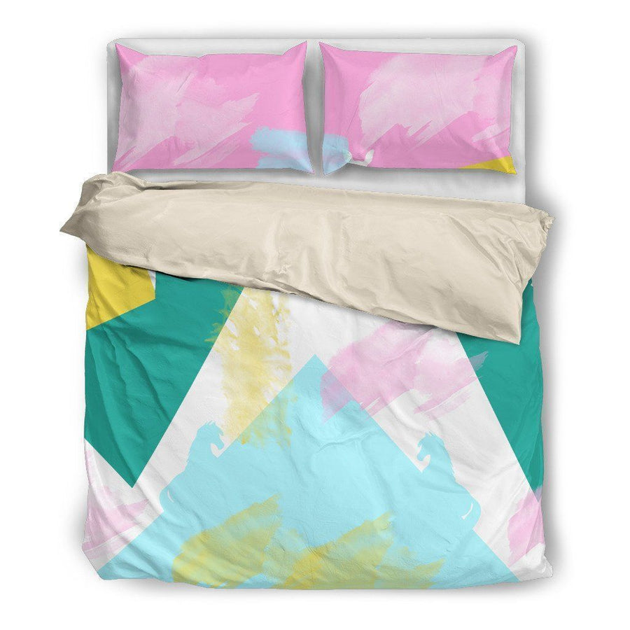 Abstract Animals Bedding Set-Bed sheets-I love Veterinary