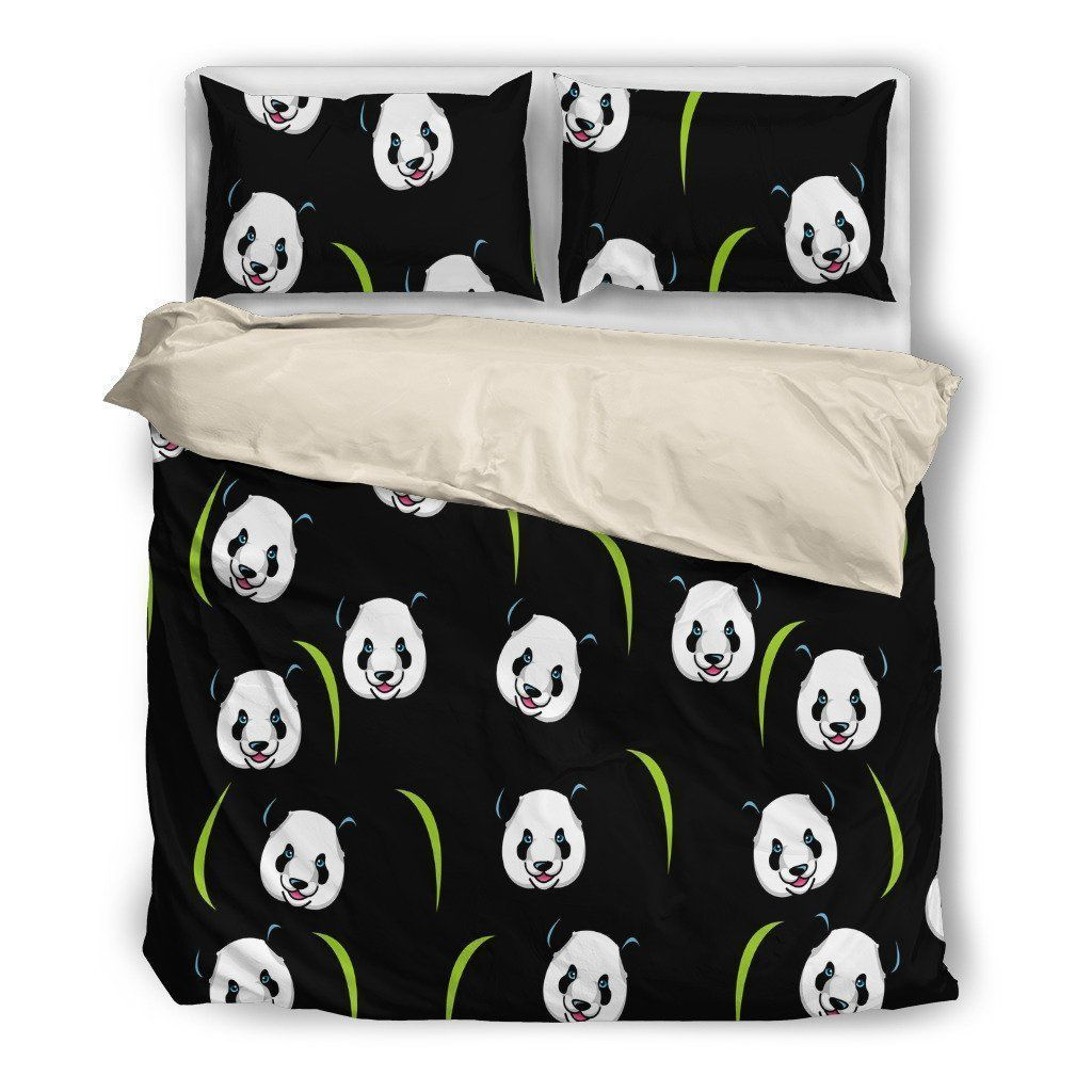 Panda Bedding Set-Bed sheets-I love Veterinary