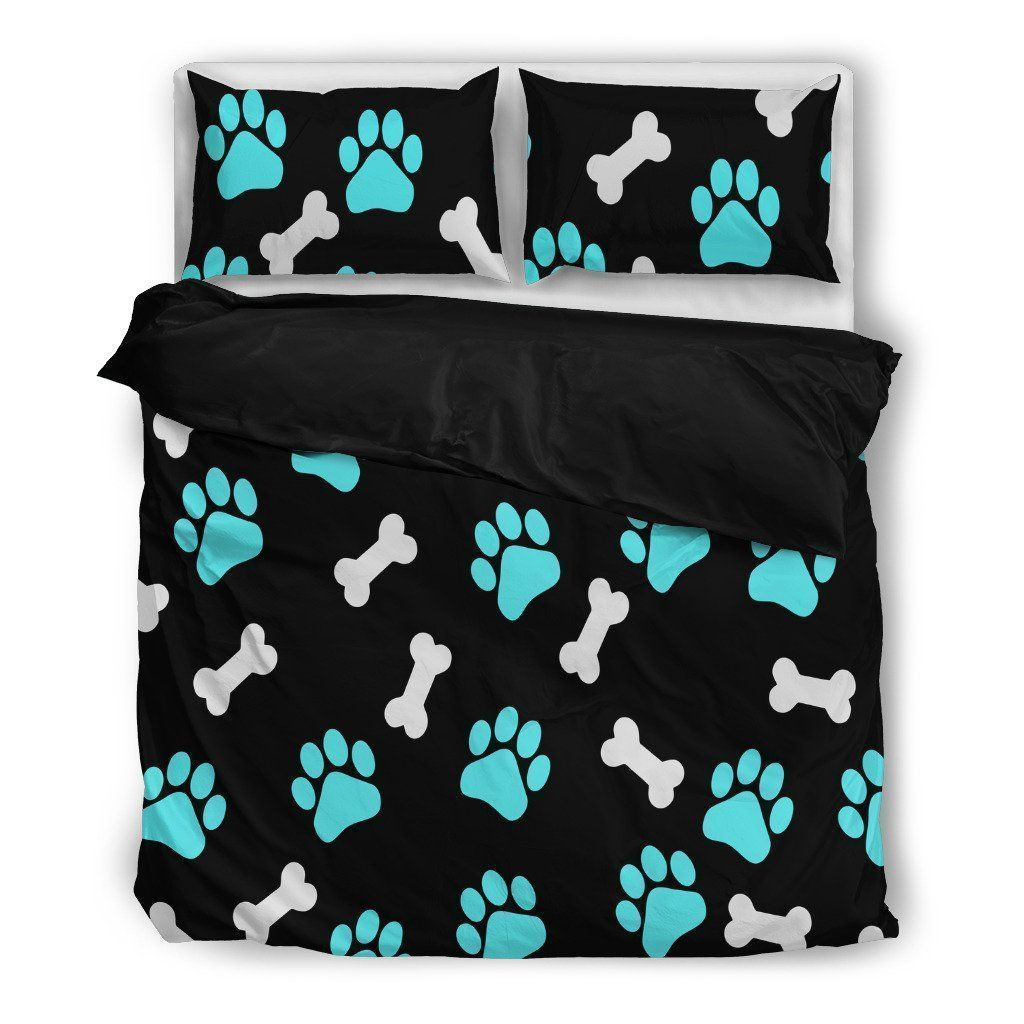 Paws and bones Bedding Set-Bed sheets-I love Veterinary