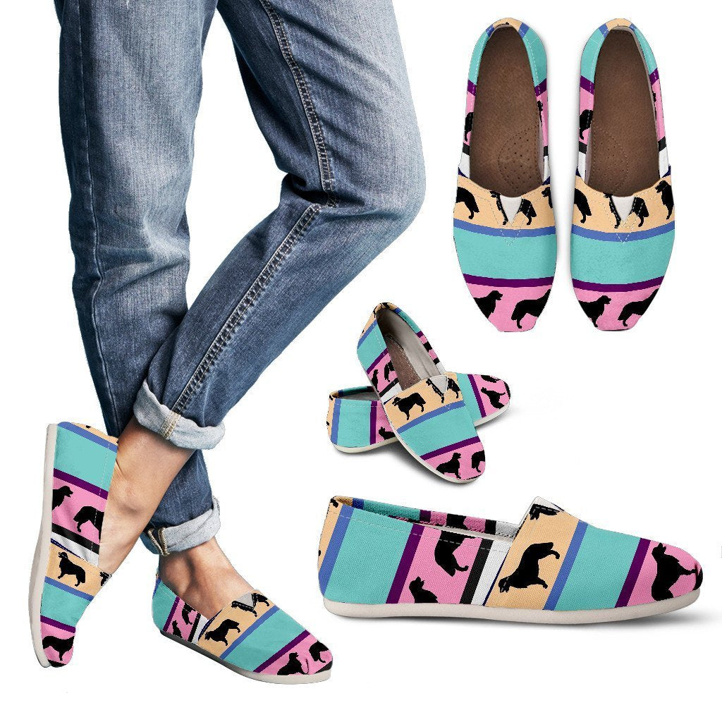 Dogs Pattern Women's Casual Shoes-Casual shoes-I love Veterinary