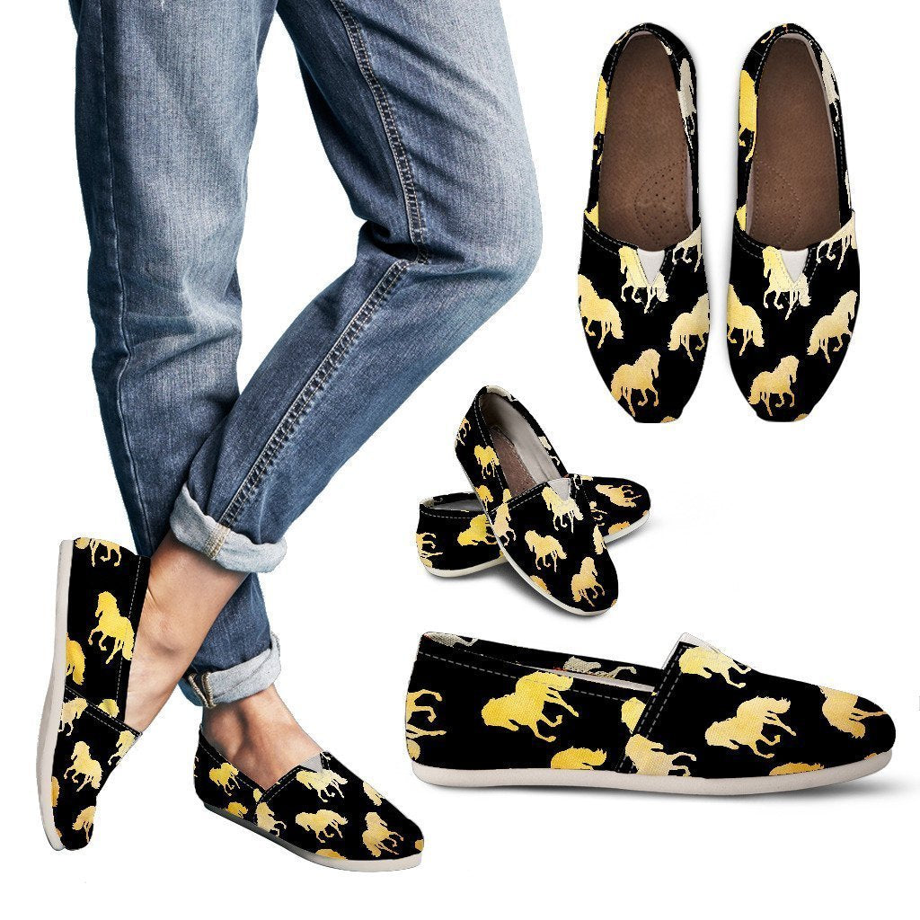Golden Horses Women's Casual Shoes-Casual shoes-I love Veterinary