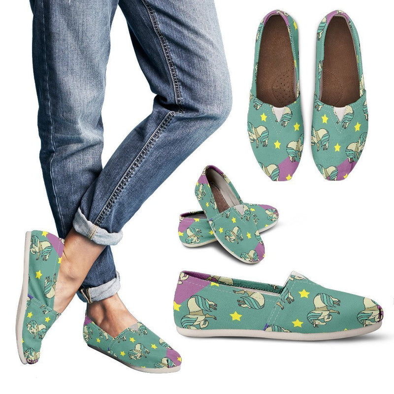 Horses and stars Women's Casual Shoes-Casual shoes-I love Veterinary