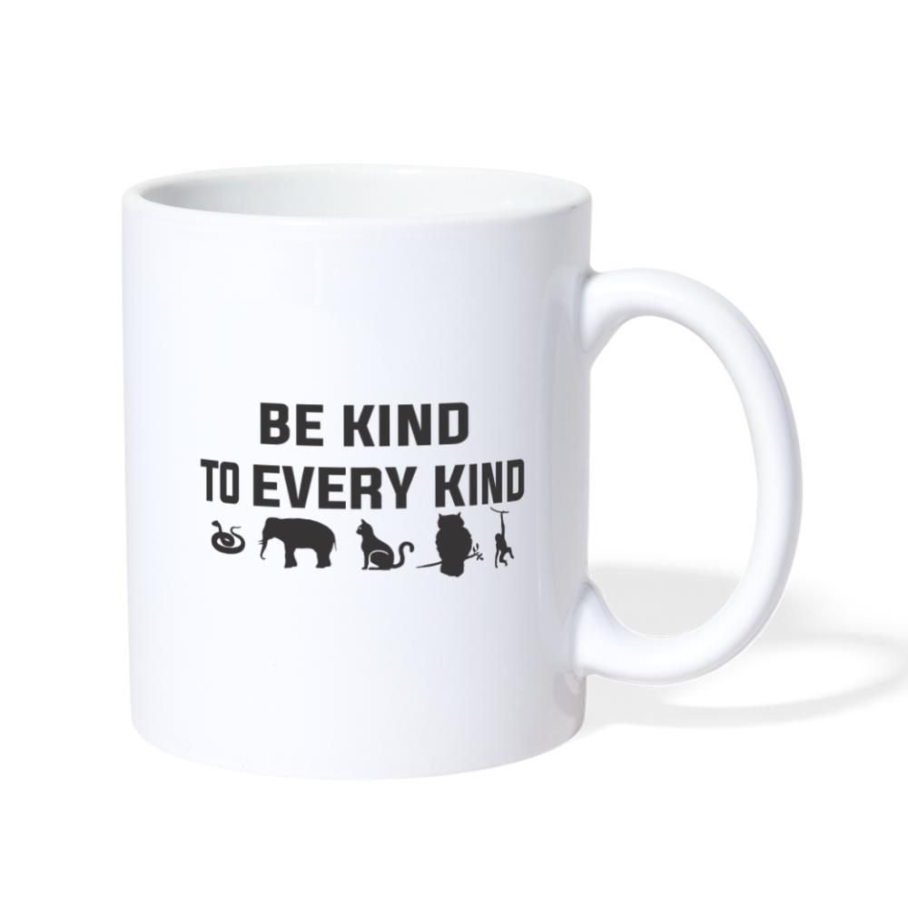 Be kind to every kind White Coffee or Tea Mug-Coffee/Tea Mug-I love Veterinary