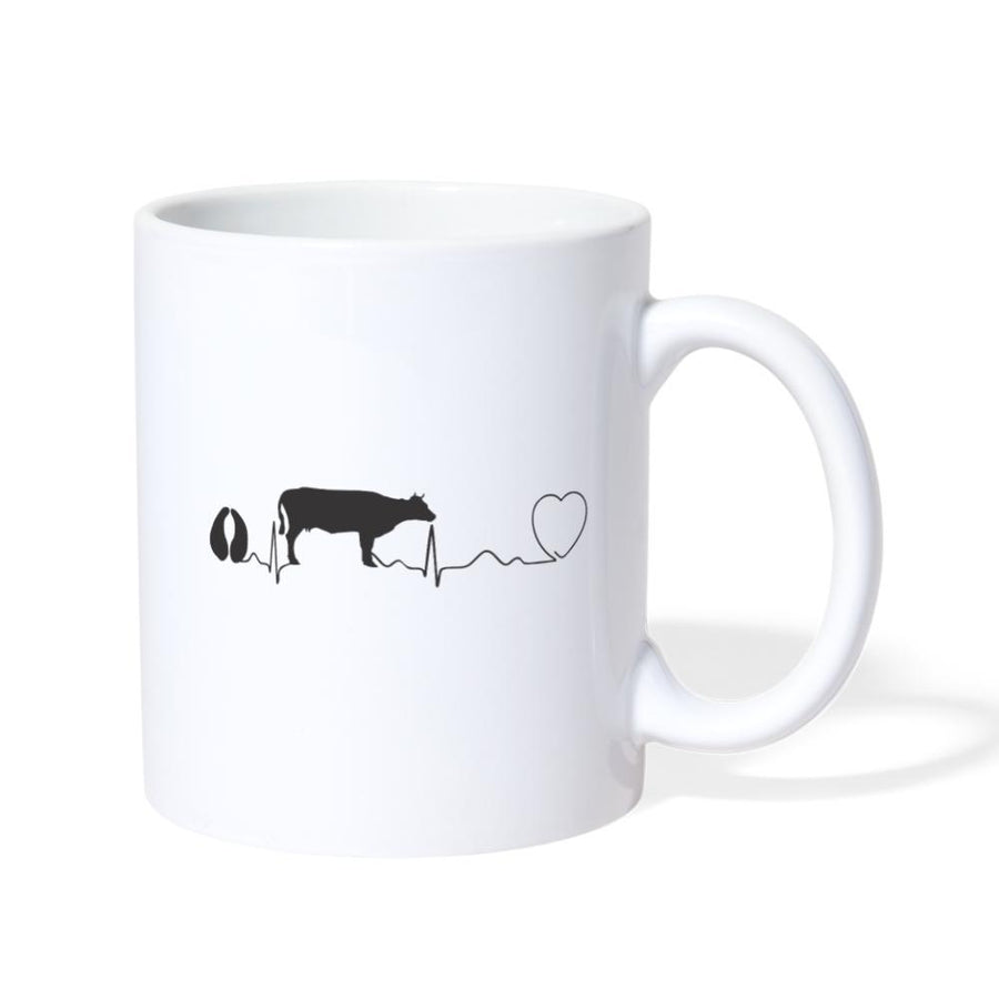 Veterinarian - Cow pulse White Coffee or Tea Mug