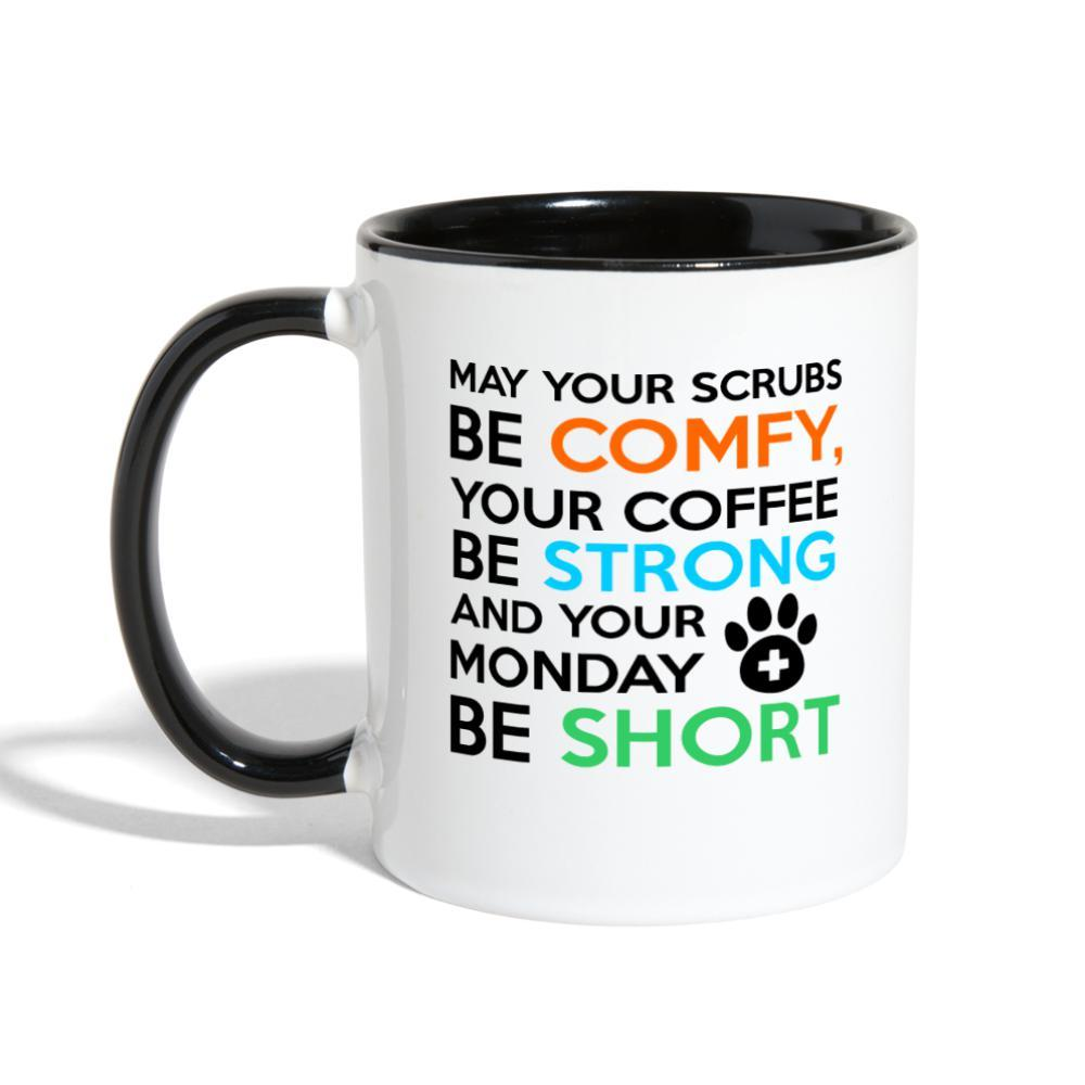 Veterinary Monday Prayer Contrast Coffee Mug-Contrast Coffee Mug-I love Veterinary