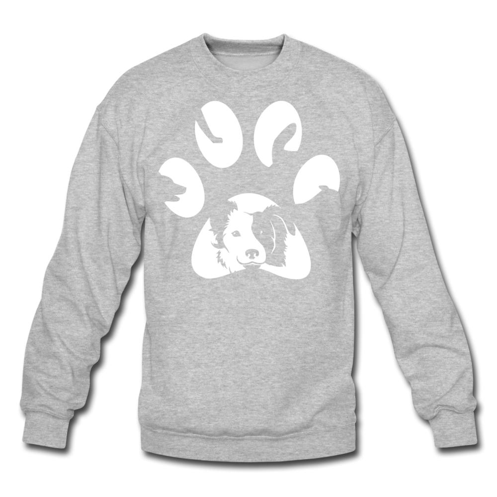 Dog Pawprint Crewneck Sweatshirt-Crewneck Sweatshirt-I love Veterinary